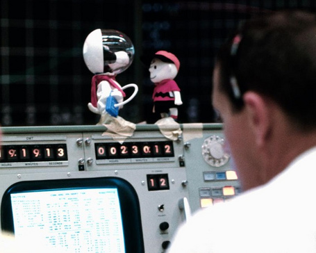 Apollo 10 Charlie Brown and Snoopy